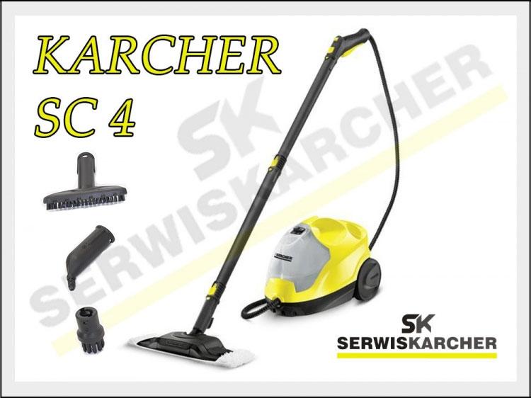 KARCHER SC 4 PAROWNICA Czyszczenie Parą ! (5697881772   -> Kuchnia Polowa Karcher