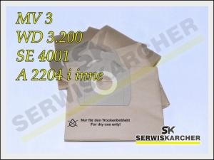 Karcher worki do odkurzacza MV 3 SE4001 WD 3.200