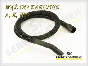 Wąż ssący + kolanko DN35  do KARCHER A K WD 2m